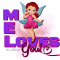 Mel - Fairy - Loves You -Bright Colors