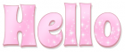 HELLO, PINK, SPARKLY, TEXT, GREETINGS
