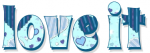 love it, TURQUOISE, HEARTS, TEXT, GG RELATED