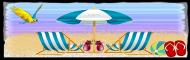 Beach Divider for summer
