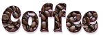 COFFEE, HOT DRINK, TEXT, COFFEE BEANS