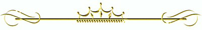 Gold Divider with crown