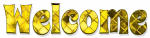 Welcome, YELLOW, DIAMOND, PATTERNS, TEXT