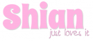Shian just loves it, PINK, PERSONAL, TEXT
