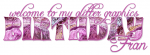 welcome to my glitter graphics birthday.. Fran