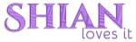 SHIAN LOVES IT, LAVENDER, DESIGN, TEXT