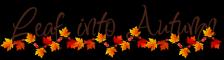 Leaf into Autumn Divider
