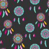 Dream Catcher Seamless Background