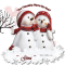 Gina -  Your Friendship Warms My Heart - Snowmen