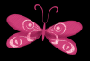 pink buterfly