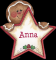 Gingerbread Star Signature - Anna