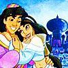 Disney jasmine and aladdin