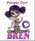 PURPLE GIRL - BREN
