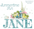 JANE.. SUMMERTIME FUN, TEXT, NAMES, LIGHTHOUSE