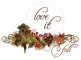 Love it,  Seasons, Autumn, Text, GG Related
